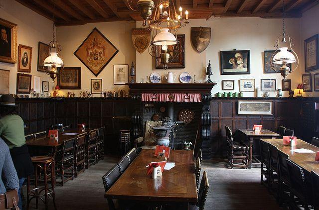 Bruges oldest pub - Café Vlissinghe opened in 1515. Apparently one of the best in Bruges. Must go.