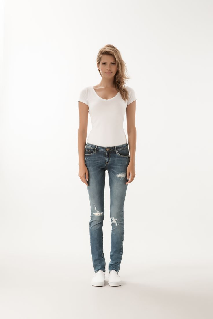 Adriana / Super Skinny Fit  #denim #CrossJeans