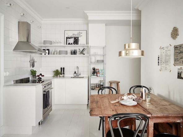 Could you wile away a morning in this lovely Swedish space? (via Bloglovin.com )