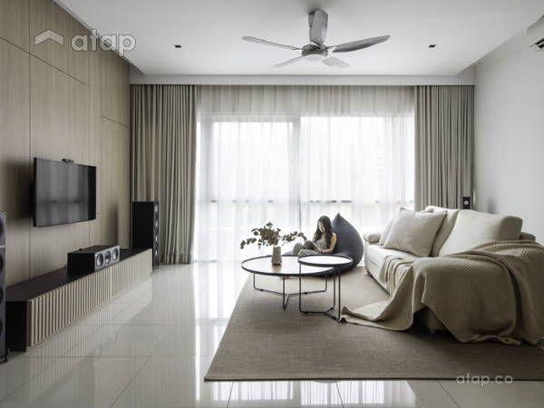 The Black Still New Black Double Storey Semenyih Interior Design Renovation Ideas Photos And P In 2020 Zen Living Rooms Condominium Interior Design Interior Design