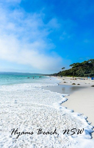 Hyams Beach, Jervis Bay. A Beautiful stretch of white, soft sand extending miles down the coast of NSW.