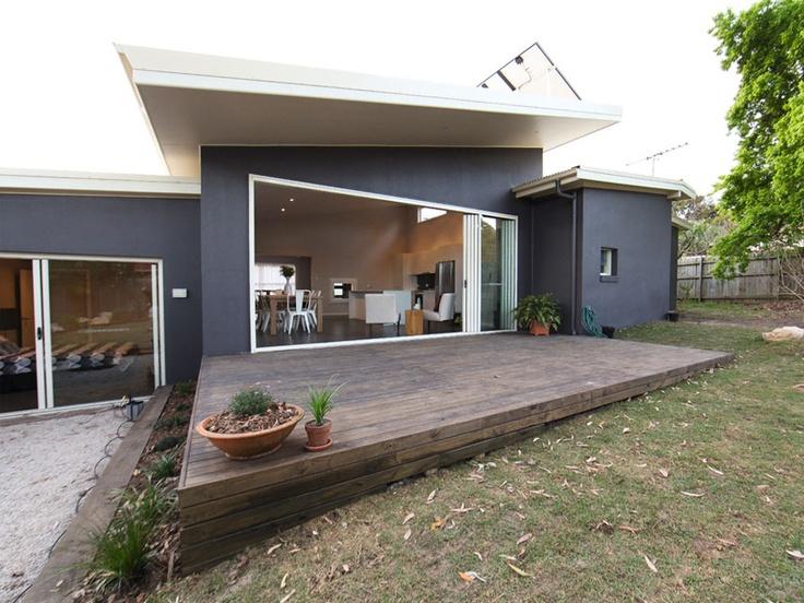 Indoor/outdoor living...