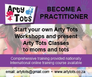 Arty Tots Workshops - Providing a creative environment for moms and toddlers to establish a bond and to strengthen fine motorskills and sensory integration  http://parentinghub.co.za/directory/listing/arty-tots-workshops