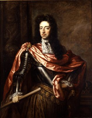King William III, Prince of Orange over England & Ireland. King of Scotland William II. In Northern Ireland & Scotland known as 'King Billy'