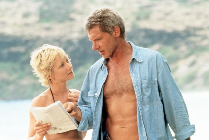 Six Days Seven Nights (1998) Harrison Ford & Anne Heche - very cute on-screen couple