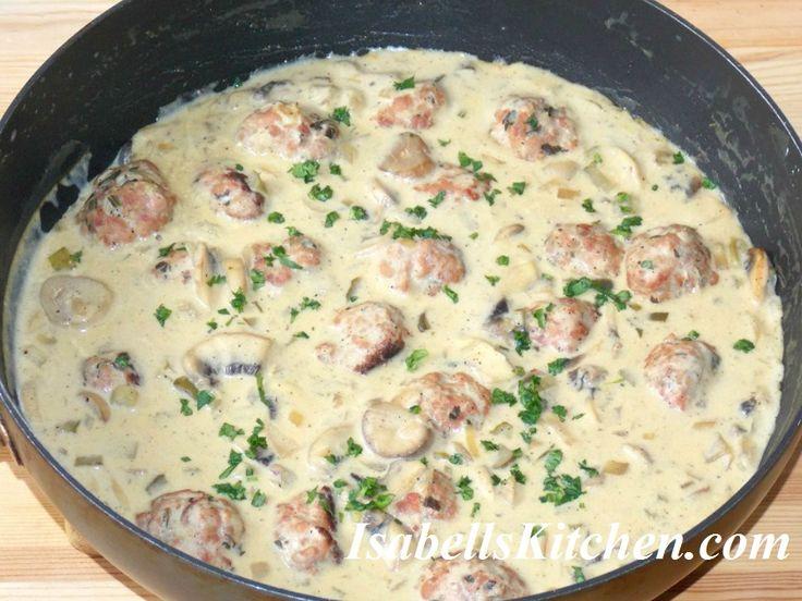 Meatball Stroganoff recipe
