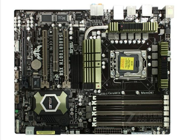 [Visit to Buy] original motherboard  SaberTooth X58 LGA 1366 DDR3 for Core i7 Extreme/Core i7 24GB Desktop motherboard Free shipping #Advertisement