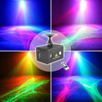 2016 Novo Melhor Remoto Aurora RG Luz Laser Estágio Profissional Equipamentos de iluminação Céu RGB LED Stage Party Disco DJ Casa luz