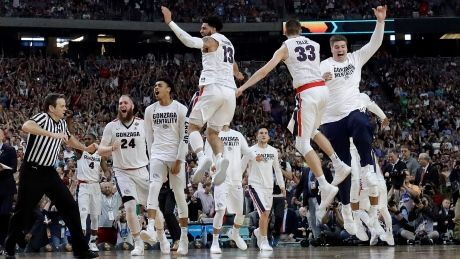 March Madness: Gonzaga holds off South Carolina to reach final
