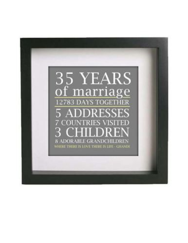 This would be so incredibly precious to give to Grandparents (or parents) for a big anniversary present!