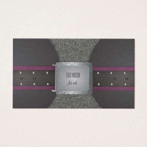 Belt purple and black