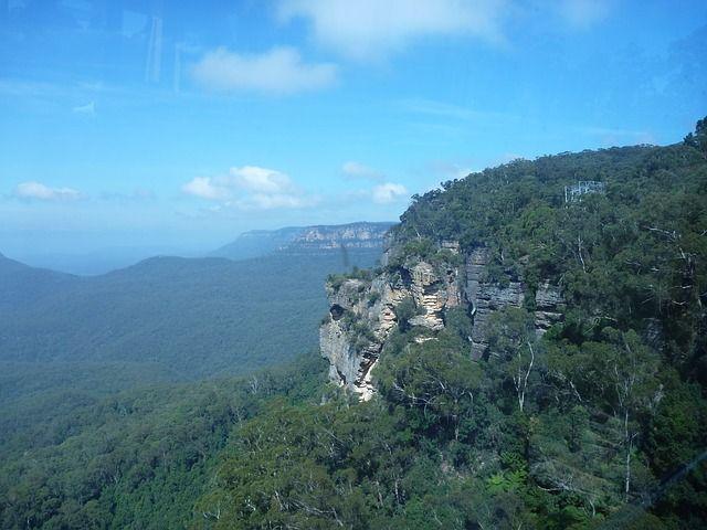Montañas Azules en Australia - http://vivirenelmundo.com/montanas-azules-en-australia/4780 #MontañasAzules, #UNESCO, #ViajesPorAustralia