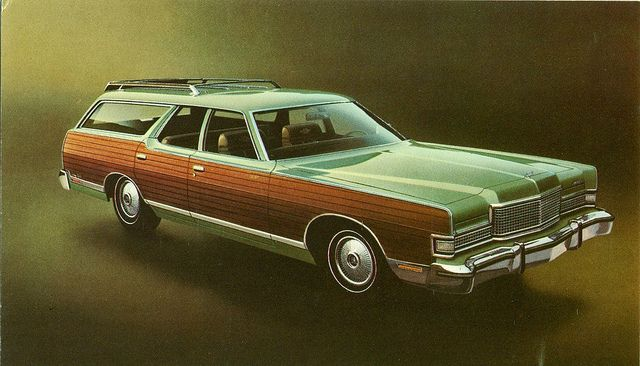 1973 Mercury Marquis Colony Park Station Wagon