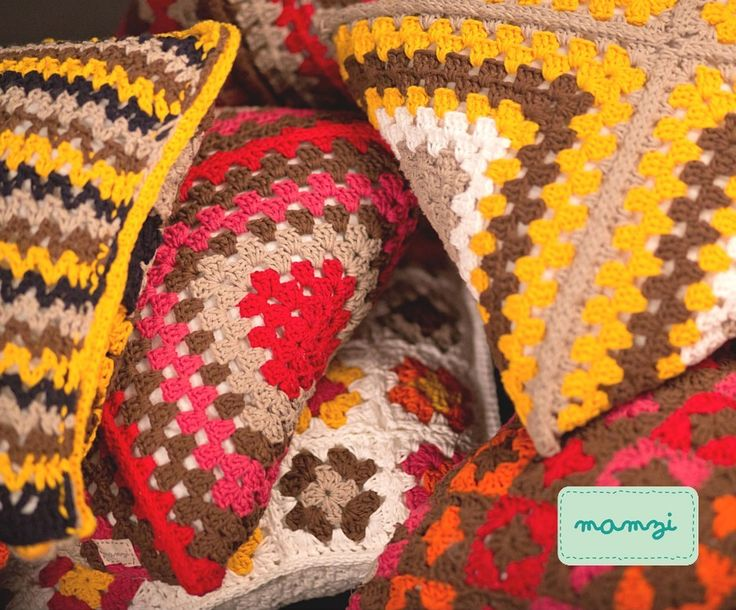 crochet cushions available at http://mamzi.bigcartel.com/