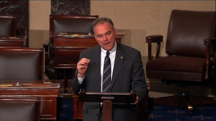 In Spanish Floor Speech Senator Kaine Makes Case For Immigration Reform  Full Speech