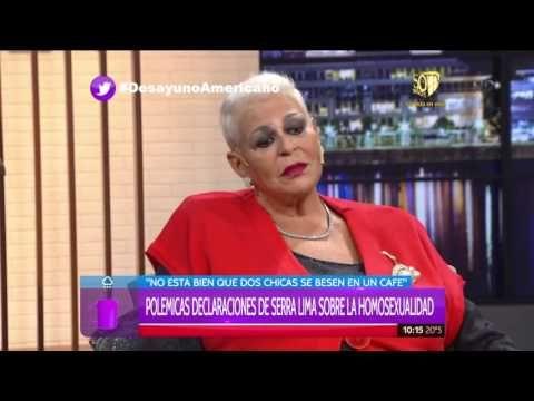 María Martha Serra Lima sobre la homexualidad