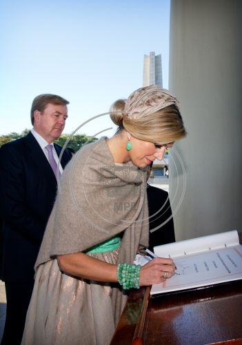 Dutch King and Queen State Visit South Korea day 1