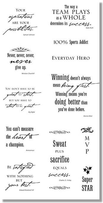 fastpitch quotes | ... sports quotes and sayings depicted is just one of the quotes