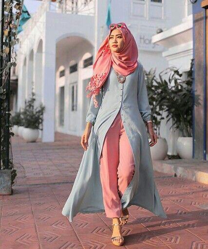 ازياء محجبات رائعة 2016 ملابس محجبات جديده 2016 ملابس للمحجبات
