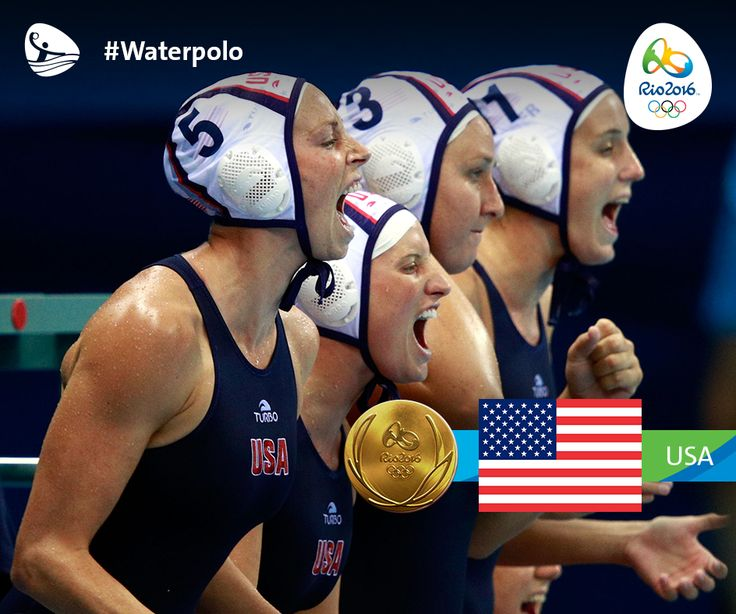 Congratulations to the Team USA women's Water Polo team! They just won the gold medal against Italy!