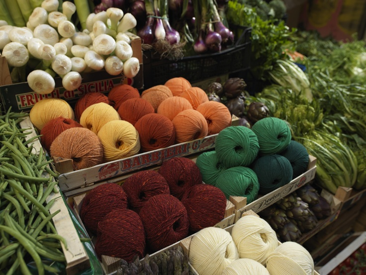 frutta e knitting