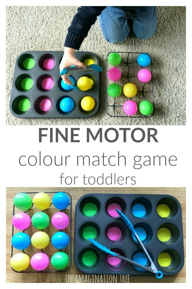 Toddler Colour Match Ball Game | Color activities for ...