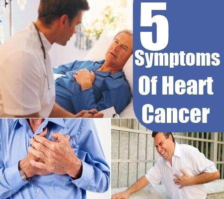 5 Common Heart Cancer Symptoms