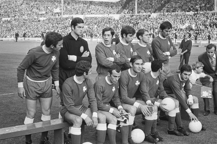 Panathinaikos FC, European Cup Final at Wembley, June 1971.