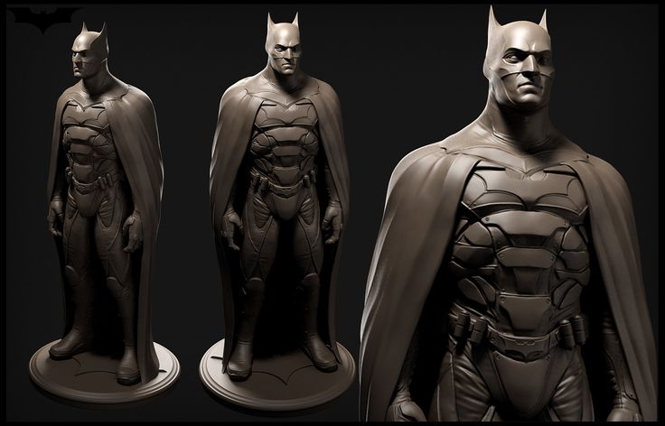 ArtStation - The Gotham knight realtime & highpoly, Rodrigo A. Branco
