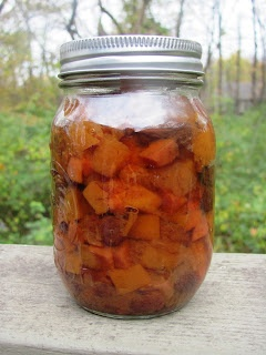 Creating Nirvana: Pumpkin and Quince Chutney