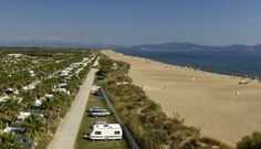 Top Campingplatz am Strand in  Spanien, Las Dunas ,Costa Brava