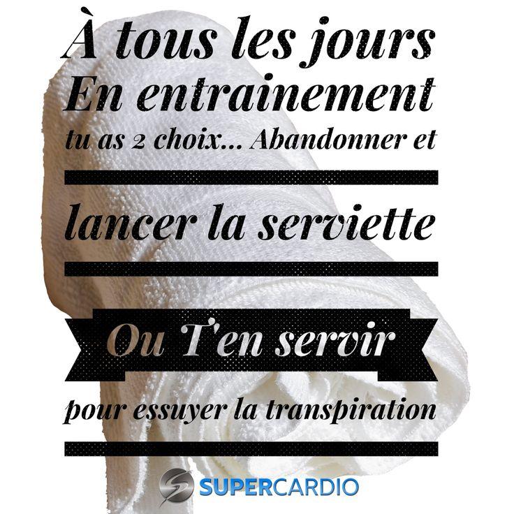 Tu as toujours 2 choix!  Citation fitness motivation supercardio  http://supercardio.ca/motivation/