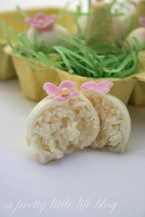 Coconut Easter Truffle