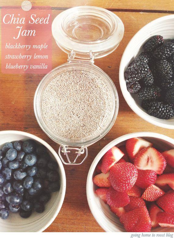 chia seed jams