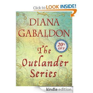 The Outlander Series 7  e-Book Bundle: Outlander, Dragonfly in Amber, Voyager, Drums of Autumn, The Fiery Cross, A Breath of Snow and Ashes, An Echo in the Bone...I soooo want this for my kindle.