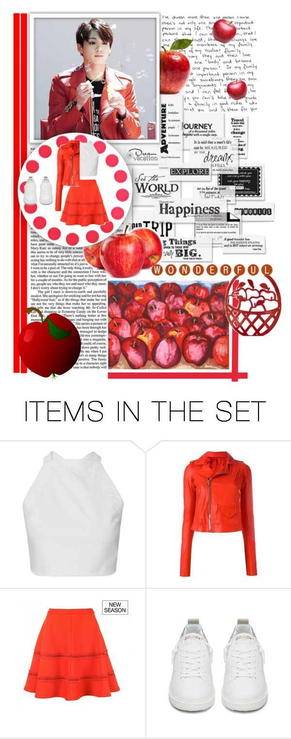 """""""Red apple"""" by shook-squad on Polyvore featuring art"""