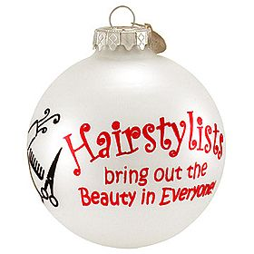hairstylist #Christmas #hairstyle #ornaments $8.99 ...