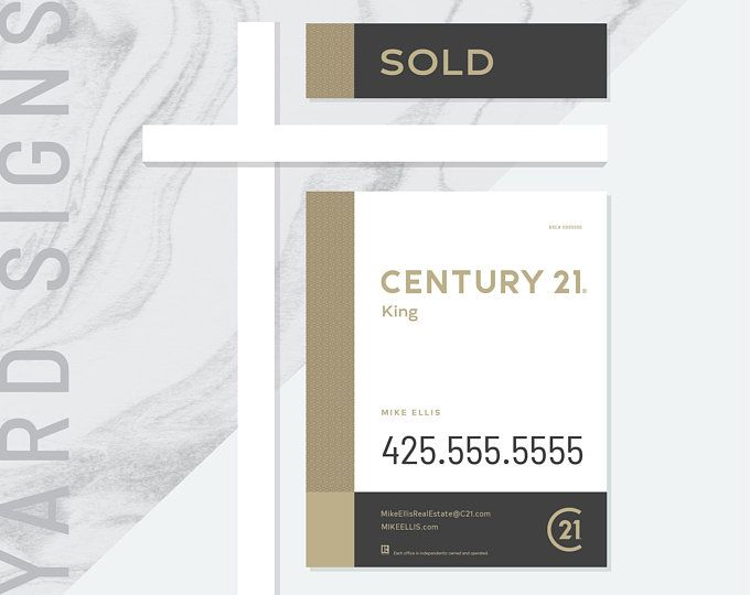 3 Made To Order Century 21 Real Estate Yard Signs For Sale Yard Signs Square For Sale Yard Sign Real Estate Yard Signs Realtor Signs Century 21 Real Estate