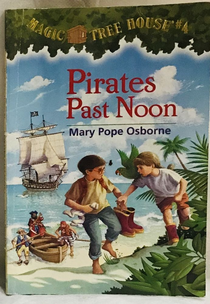 Pirates Past Noon Mary Pope Osborne Paperback Magic