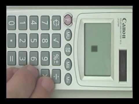 Play Tetris On Calculators! Now I just need a Canon calculator!!!!!!!