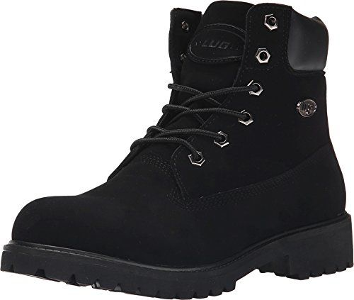 Lugz Women's Convoy Winter Boot, Black, 8.5 M US. Cushioned insole,durable lug rubber outsole,work-boot styling.