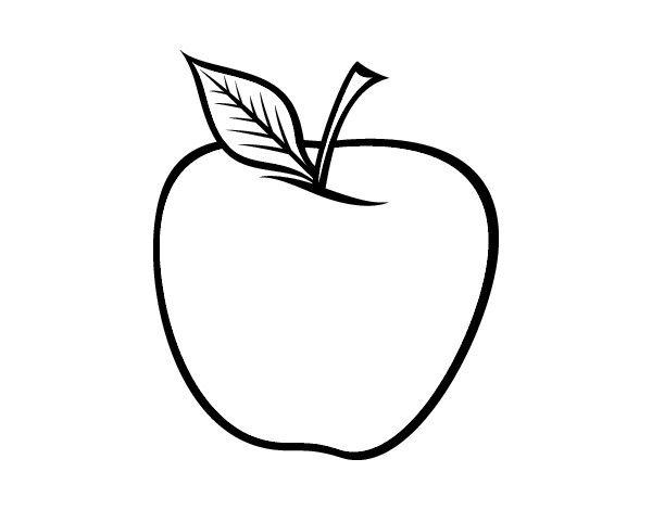 Manzana Manzanas Dibujo Colores