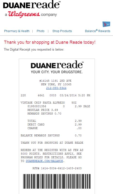 33 best Digital Receipt Examples images on Pinterest Ui ux - example of receipt