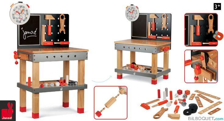 les 25 meilleures id es concernant tabli en bois jouet sur pinterest etabli bois jouet. Black Bedroom Furniture Sets. Home Design Ideas