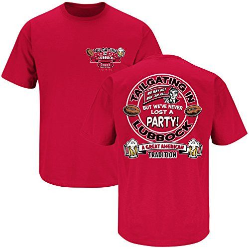 Texas Tech Red Raiders Fans. Tailgating in Lubbock. T-Shirt