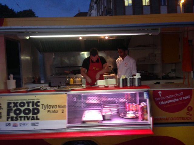 Foodtruck Chefparade in Prague