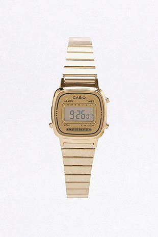 Casio Gold Face Watch