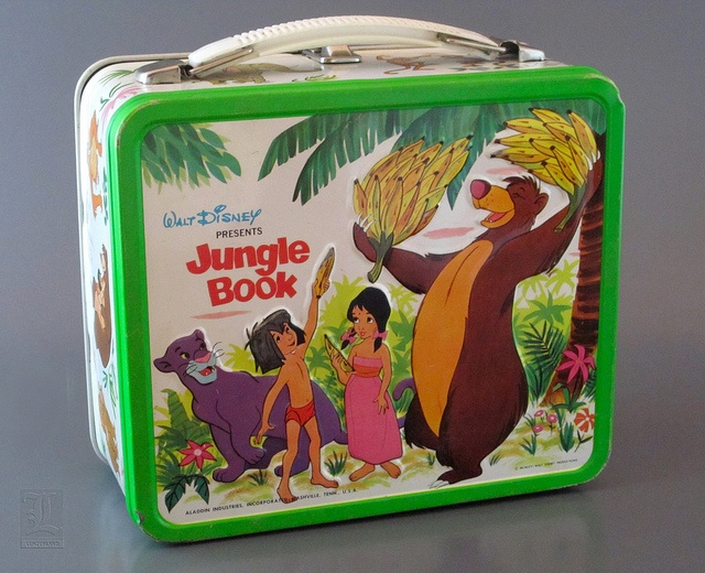 My first lunch box-1960's Jungle Book!