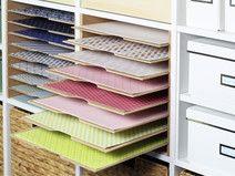 """IKEA Expedit Fachteiler für 12"""" Scrapbook-Papier"""