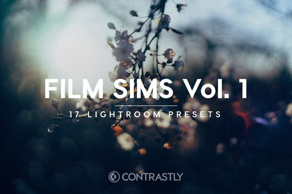Film Sims Vol. 1 Lightroom Presets by Contrastly Shop on Creative Market